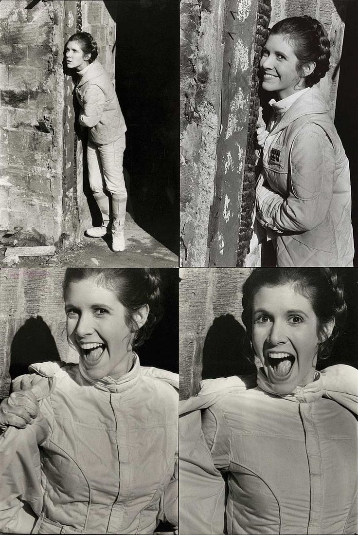 What a woman. Thanks Carrie for bringing to life a princess that was fierce, funny, strong, competent, beautiful, confident and real. May the force be with you.