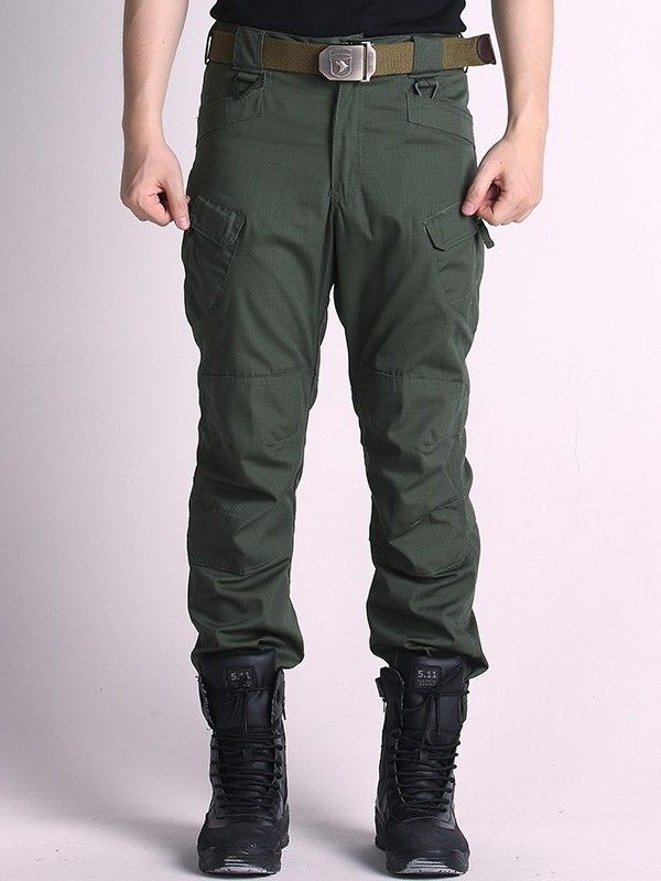 Mens Military Tactical Cargo Pants Outdoor Training Long Trousers at Banggood
