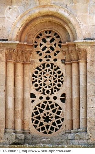 Romanesque window