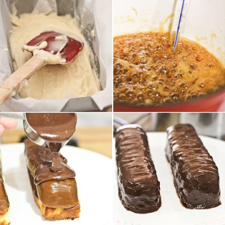Twix Cake Recipe | Key Ingredient Oh snap I love twix!
