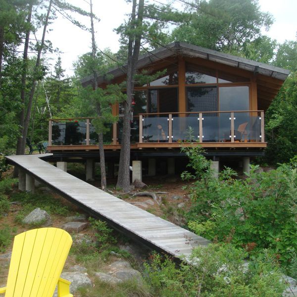 French River Cottage with Pive Solar | Plexi gl, Pergolas and ...