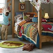 The Company Store- Woodland Animals bedroom set...THIS IS IT! The bedding for Edward's big boy room in the new house!