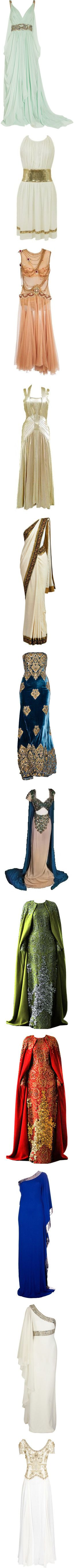 Old Dress 2.0 by kerstinxx on Polyvore featuring women's fashion, dresses, gowns, vestidos, long dresses, mint, short dresses, beaded gown, mint green evening dress and green dress
