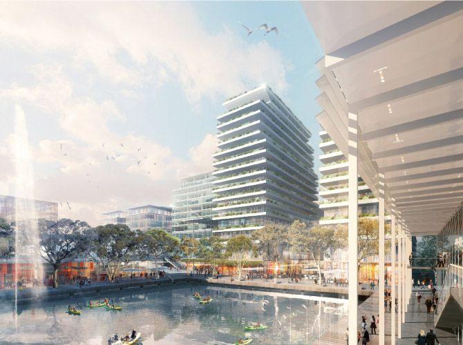 Norwest Master Plan- Sydney - Stewart Architecture