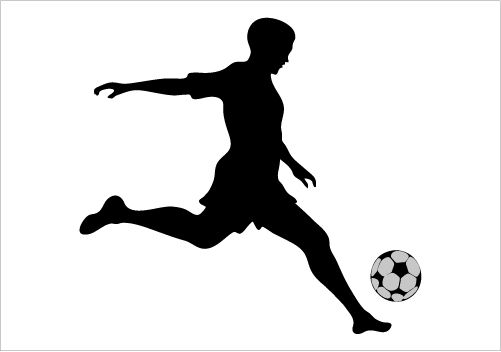 Soccer Silhouette Graphics