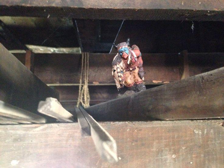 Hidden in the loft of the Blacksmith shop. sexsmith AB