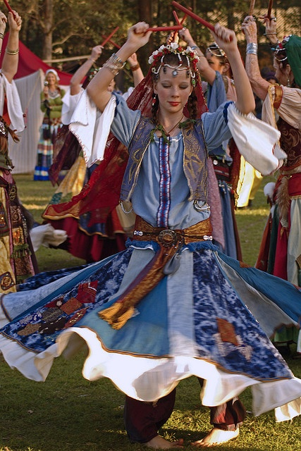 20090711_Abbey Medieval Festival_ Romany Gypsy Dancers - 1838 by Peter J Howes - Photographer, via Flickr