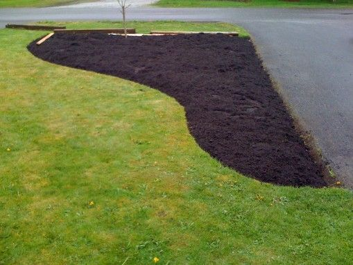 How To Curve A Front Landscape Up From In Front Of 400 x 300