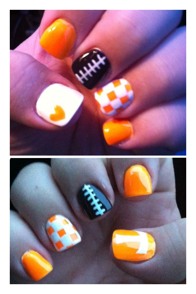 Tennessee Vol Nails!