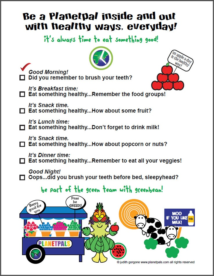 how to make children eat healthy foods