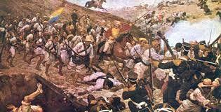 Resultado de imagen para imagenes de la reconquista colombiana
