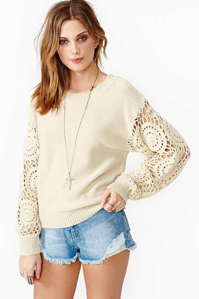 Refashioning sweater idea!