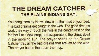 Meaning of a dream catcher