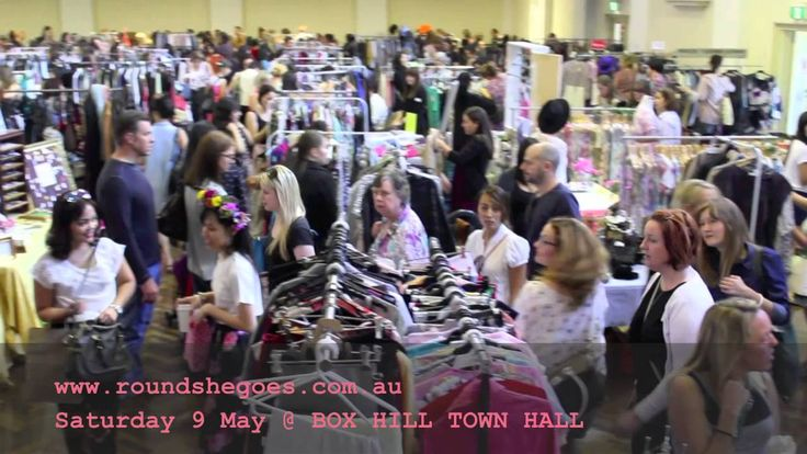 Round She Goes Fashion Market at the Box Hill Town Hall