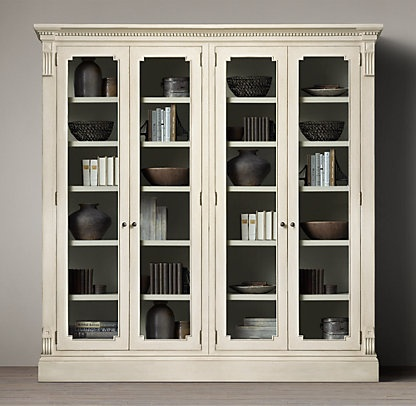 83 best images about restoration hardware livingroom on pinterest living rooms regency and - Restoration hardware cabinets ...