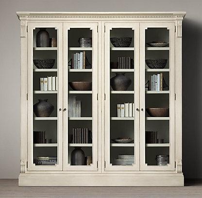 83 best images about restoration hardware livingroom on pinterest living rooms regency and - Restoration hardware cabinets ...