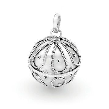 Harmony Ball - PAPAYA - Bella Donna Sterling Silver