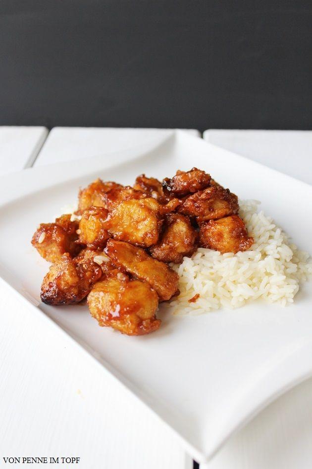 Hähnchen Süß-Sauer ist ja ein echter Klassiker. Wenn ich chinesisch essen gehe, dann bestelle ich das ganz, ganz oft. Heute habe ich ein ganz einfaches Rezept für Euch, mit dem ihr dieses leckere Geri
