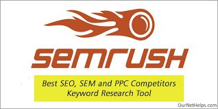 SemRush The Best SEO SEM and PPC Competitors Keywords Research Tool