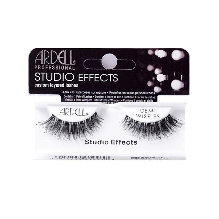 Ardell Studio Effects Demi Wispies adauga unstrat dublu de volumgenelor tale.Acest set de gene dinpar naturalva ofera confort si un aspect absolut deosebit.Sunt usor de a
