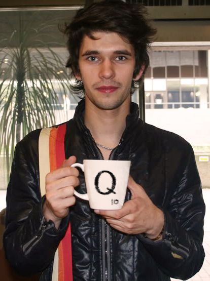 Ben Whishaw - no it's not pervy that I think he's cute... he's 31 ;)