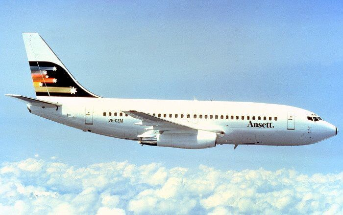 Ansett Boeing 737-200 (VH-CZM)