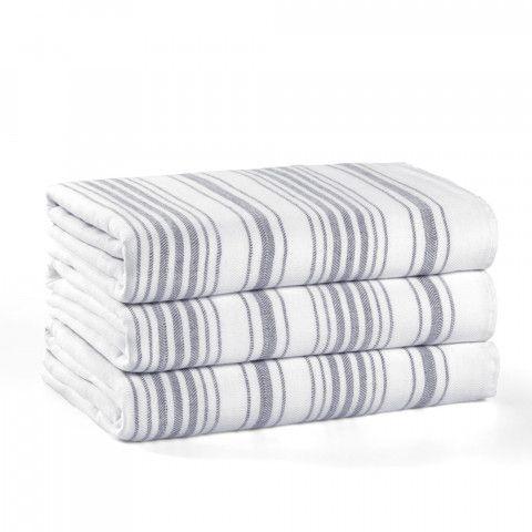 Stripe Gauze Beach Towel Beach Towel Towel Luxury Linen