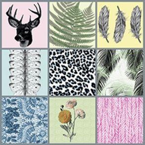 Dims by Tile Junkie - sæt af 9 stickers