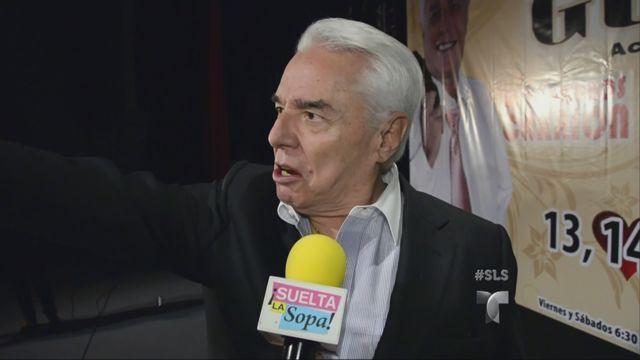 Enrique Guzmán reacciona a las fotos de su nieta Frida Sofía desnuda (VIDEO)
