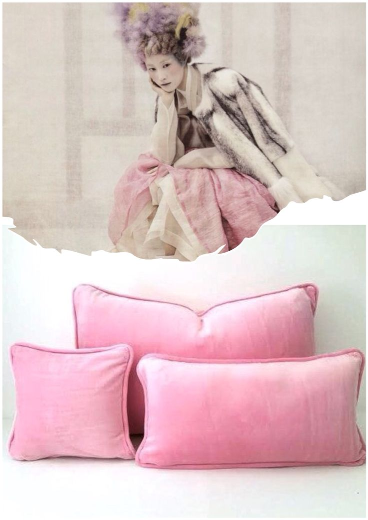 Soft #velvet #cushions by Cushions & More https://www.etsy.com/listing/220499950/velvet-baby-pink-throw-pillow-20-by-12