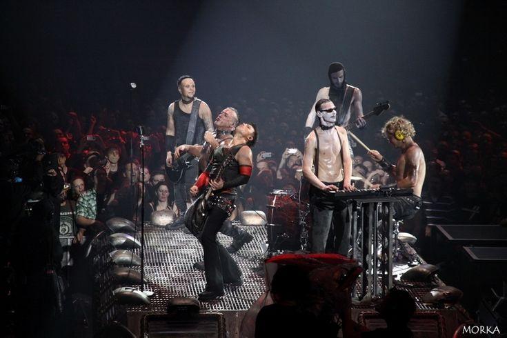 Rammstein, 2012-03-07 (Bercy, Paris, France), Mann gegen Mann.  #concert #live http://www.morka.fr