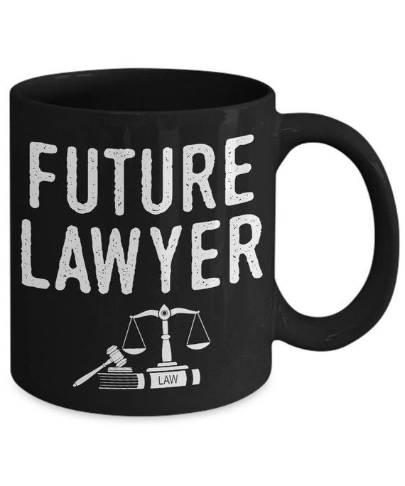 Future Lawyer Attorney Law Coffee Mug
