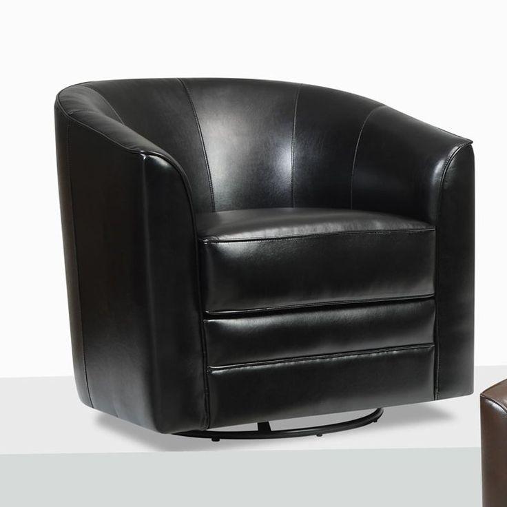 Best 25 Leather Swivel Chair Ideas On Pinterest Brown