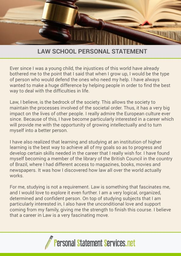The 25+ best Law school personal statement ideas on Pinterest - personal statement sample
