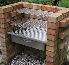 Image result for built in brick bbq
