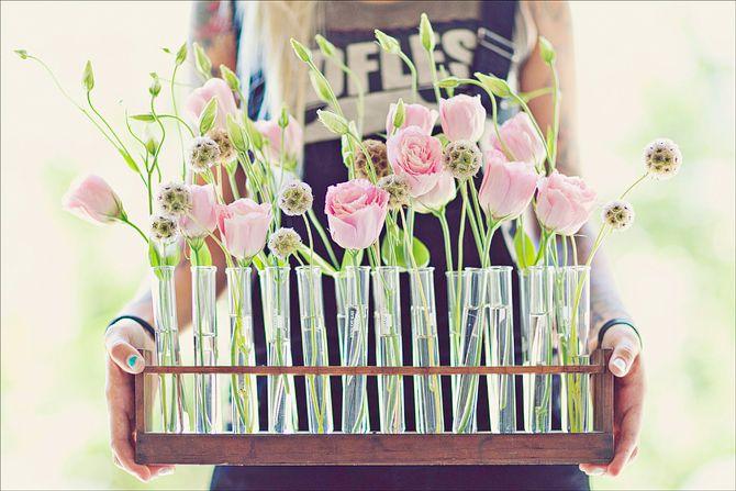 test tube vases