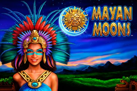 The moon eclipse is the sign of luck in Mayan Moons free slot! The atmosphere of mystery and Mayan secret rituals penetrates 5 reels and 20 pay lines of Mayan Moons slot designed by Novomatic. Enter the fantastic world of the ancient people and win a lot with Wilds, Scatters, 15 free spins, nice bonus prizes and a gamble feature. Attractive Mayan girl will tell you many interesting things on SlotsUp.com.