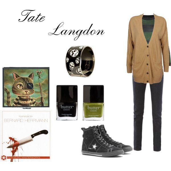Tate Langdon, created by bingobloo