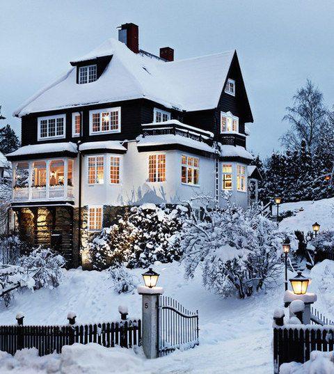 Amazing. Love the snow.