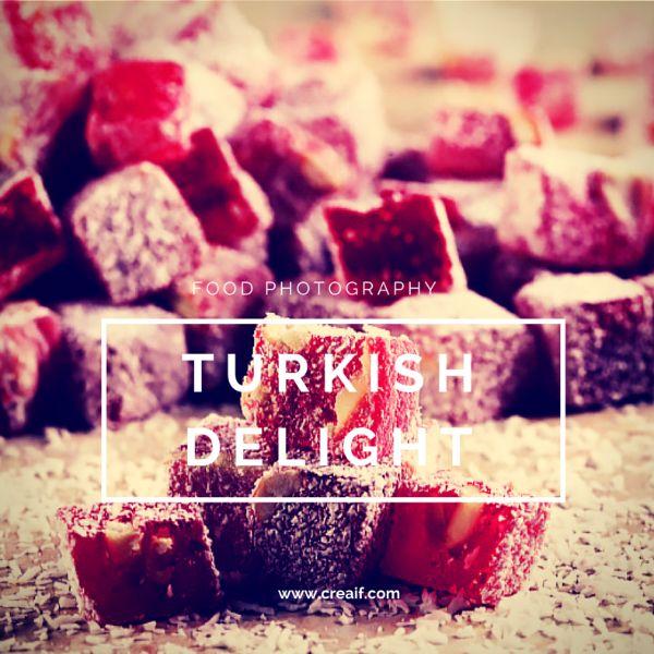 Türk lokumu - Turkish delight  www.creaif.com