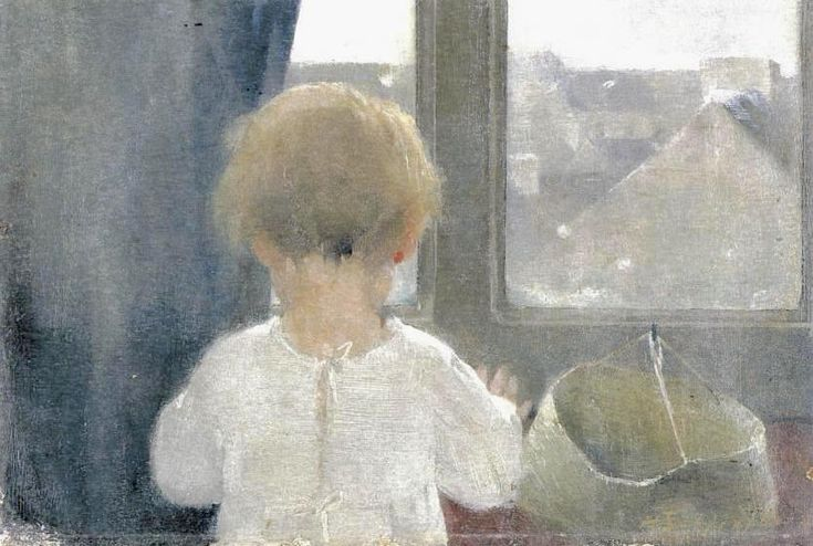 Helene Schjerfbeck , The Neck of a Little Girl