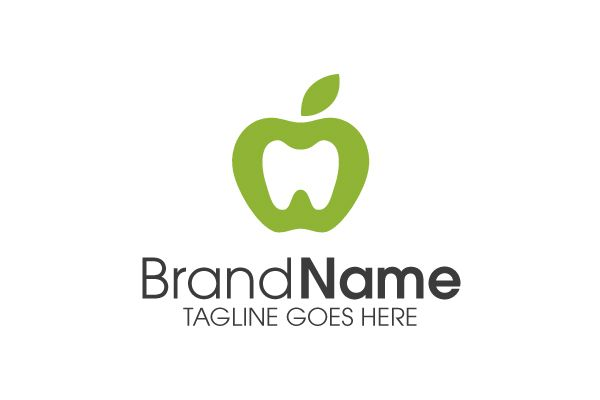 Logo for sale: Apple Dental Logo