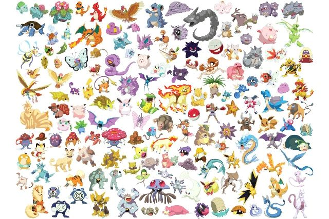 List of all Pokemon figures in Pokemon Go. See the list at http://agreview.net/how-to-play/list-of-all-pokemon-in-pokemon-go-game.html