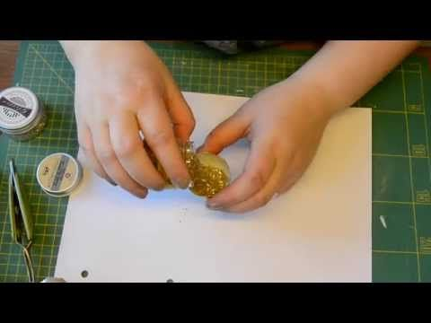 Glitter egg tutorial - YouTube