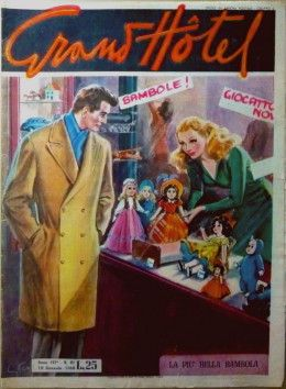 Cover La più bella bambola illustrata da Walter Molino