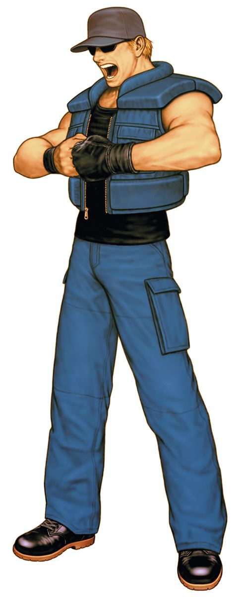 Clark Still from King of Fighters 2000