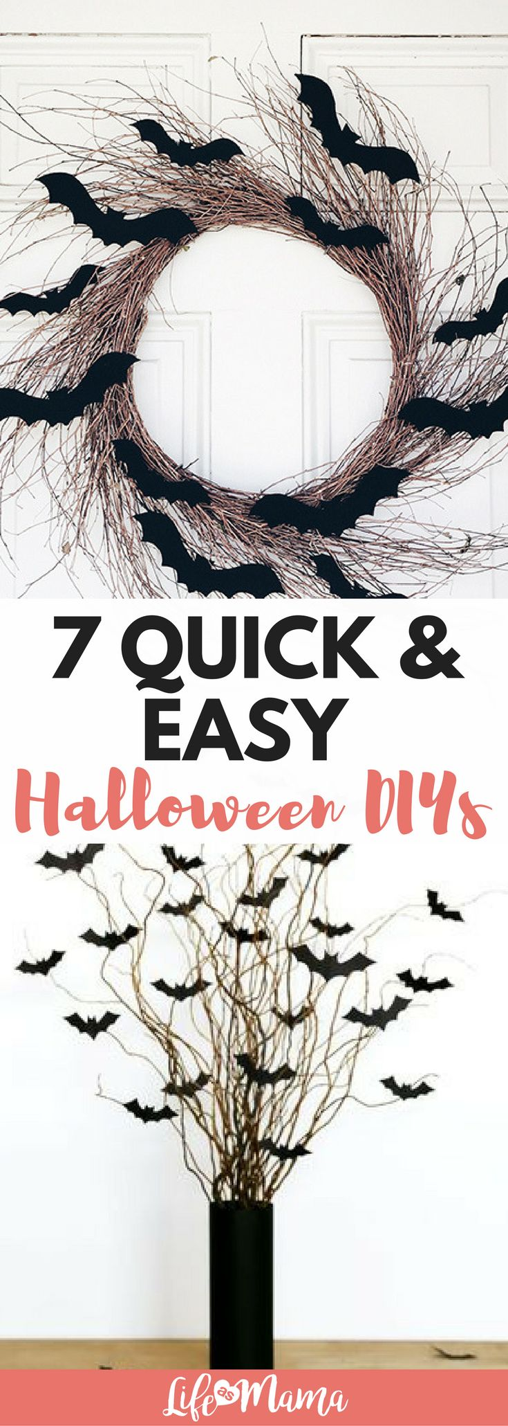 Halloween DIY's are here! I've found some fun ways to decorate to get you in the Halloween spirit.