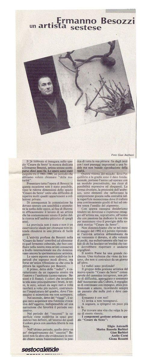 1996 Giornale Informazione Sesto Calende
