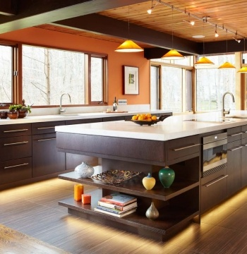 38 best kitchen images on Pinterest | Burnt orange kitchen, Kitchen ...