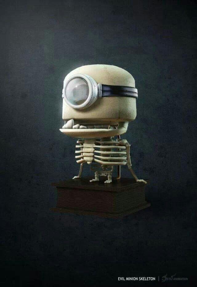 Esqueleto de un Mimion